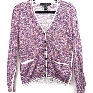 Marc by Marc Jacobs pink purple small cardigan